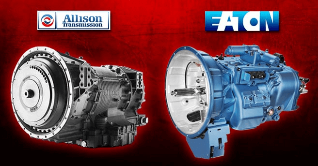 Allison and Eaton transmission
